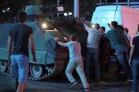 Fighting against tanks