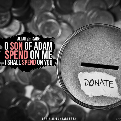 Spend on Allah