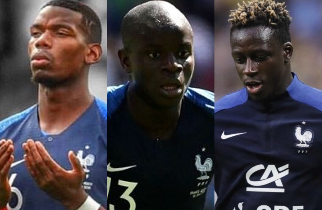 Seven Muslim players in France's team that will play today's World Cup 2018 Final